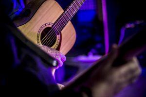 Piping Hot Guitar at a Ceilidh in Devon